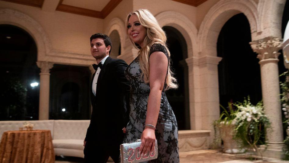 Tiffany Trump und Michael Boulos auf Donald Trumps Anwesen Mar-a-Lago in Palm Beach