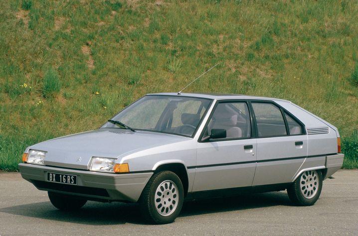Comeback als Citroën BX - das Design des Ascot fand doch noch den Weg in die Serie, wenn auch etwas unspektakulärer