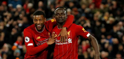 Liverpool beat West Ham United with four games to play to win the Premier League - ENGLISH FOOTBALL 1