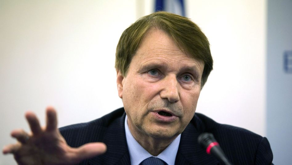 Horst Reichenbach, head of the European Commission Task Force for Greece.