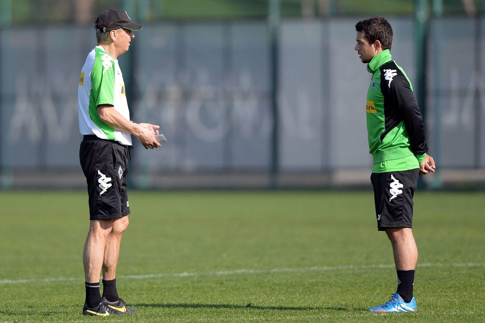 Borussia Mönchengladbach Training Fussball 1 Bundesliga 13 01 2014 Amin Younes Möncheng
