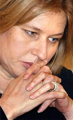 "Israels Außenministerin Livni: ""Hart bleiben"""