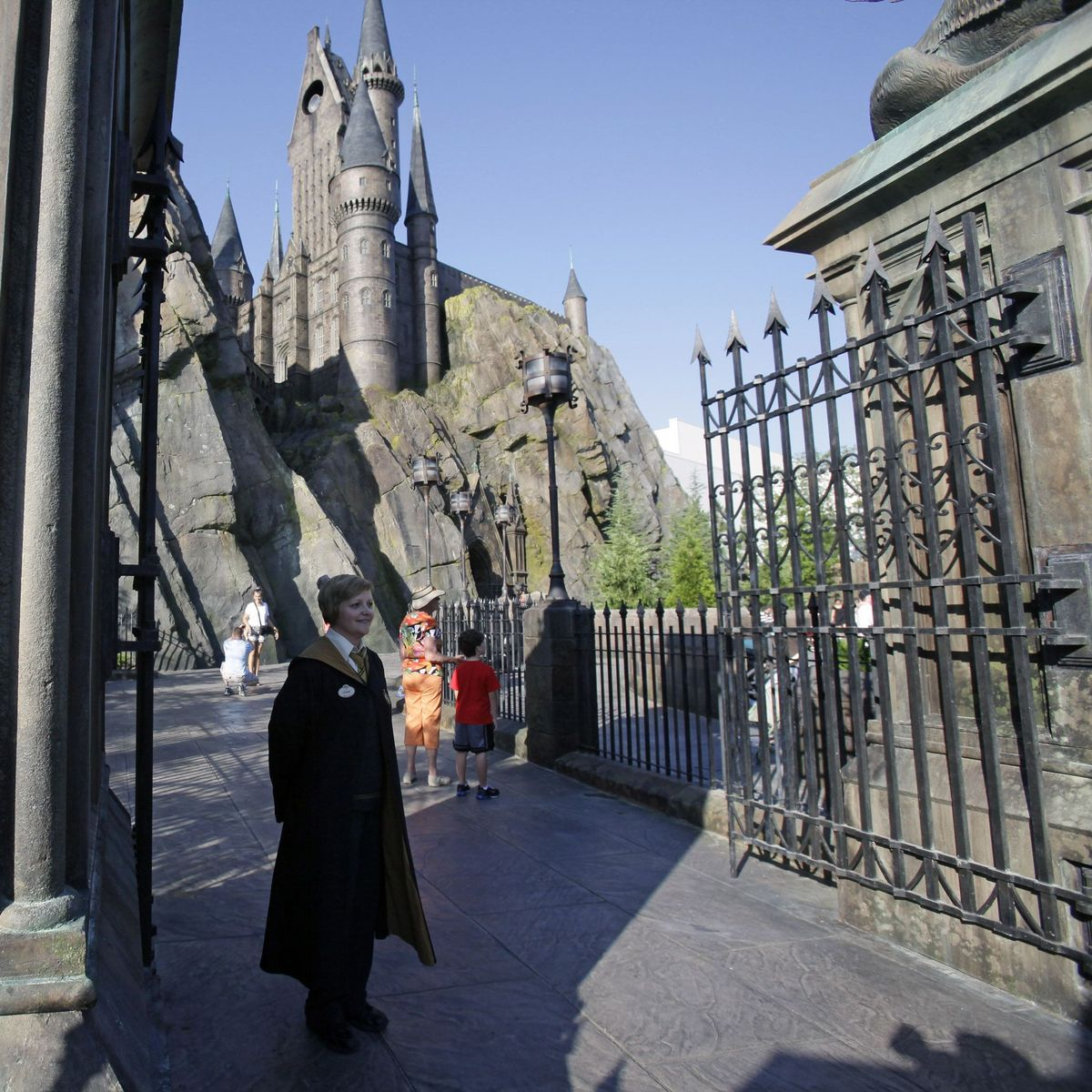Eroffnung Des Harry Potter Parks Muggels Willkommen Der Spiegel