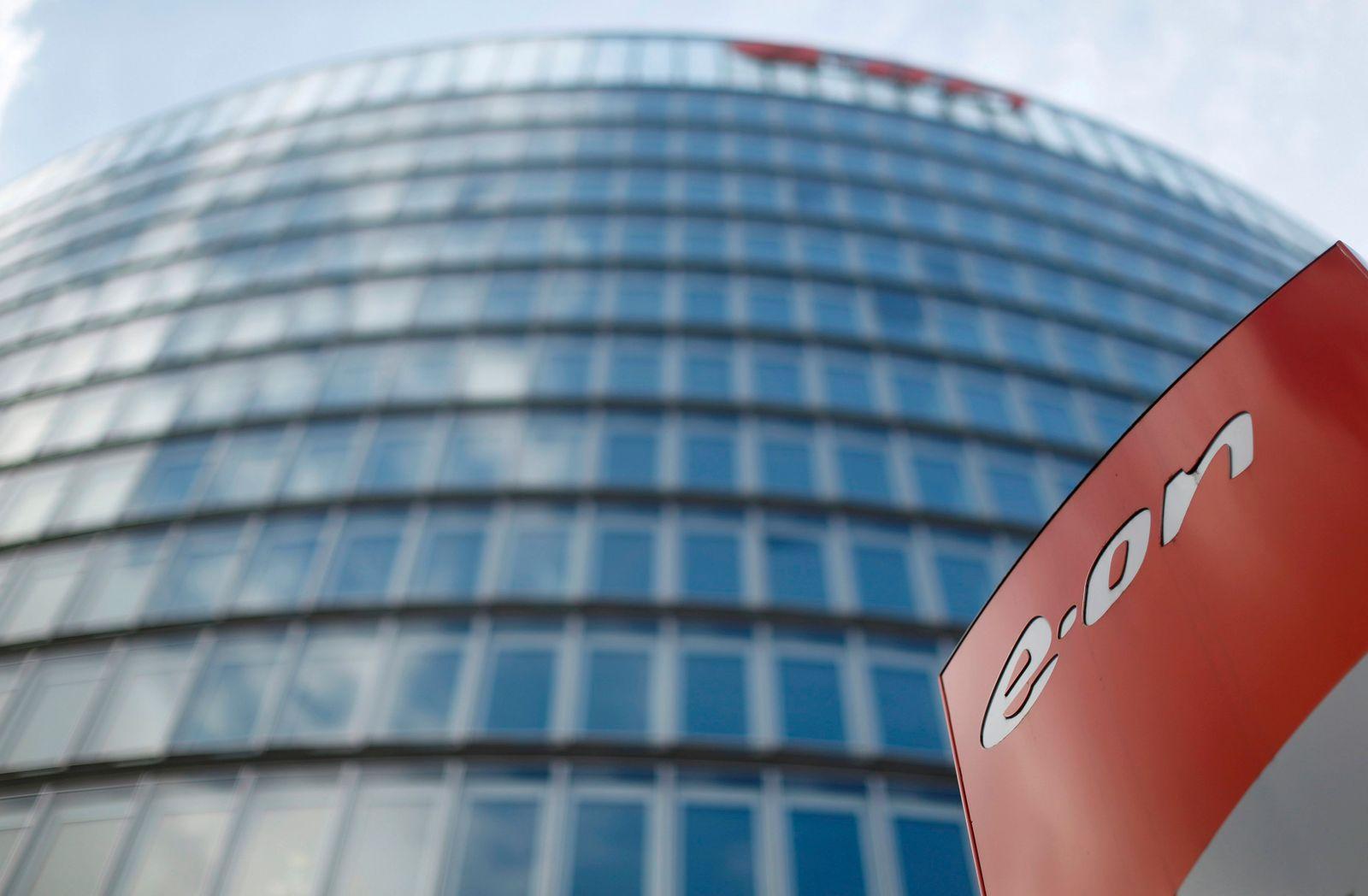 FILE PHOTO: E.ON headquarters in Essen