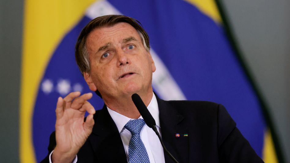 Jair Bolsonaro ist ein großer Fußballfan