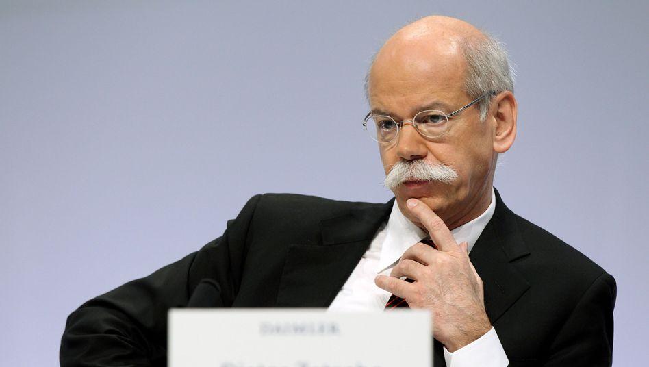 Daimler-Chef Zetsche: Hoffnung auf 2010