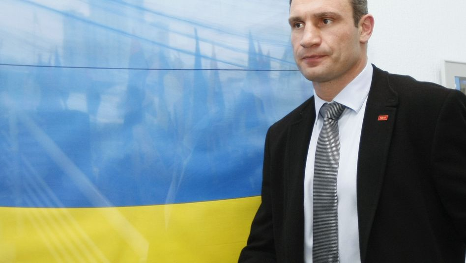 Heavyweight boxing champion Vitali Klitschko is also the leader of the pro-European Ukrainian political party UDAR.