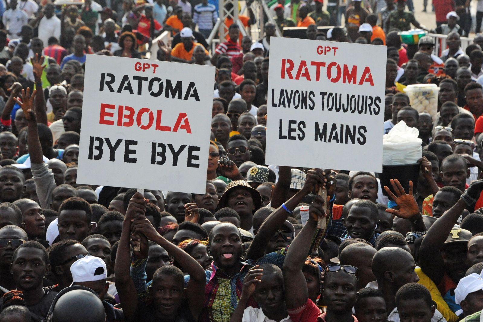 Ebola/ Abschiedsparty