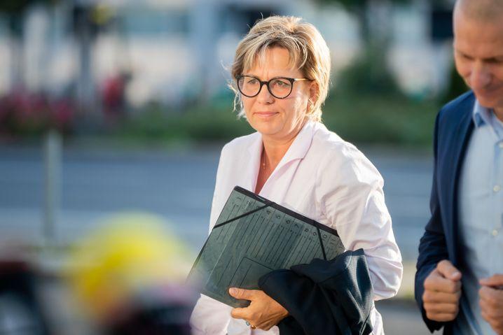 Die sächsische Ministerin für Kultur und Tourismus Barbara Klepsch