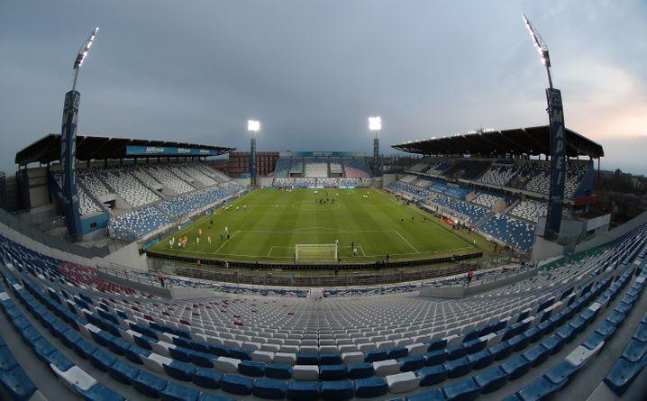 """Das Stadion des Serie-A-Klubs US Sassuolo: """"Die Liga palavert, liefert aber keine konkreten Modelle"""""""