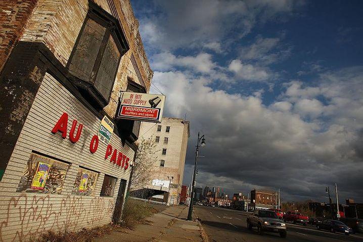 Detroit im Niedergang: Ende einer US-Ikone