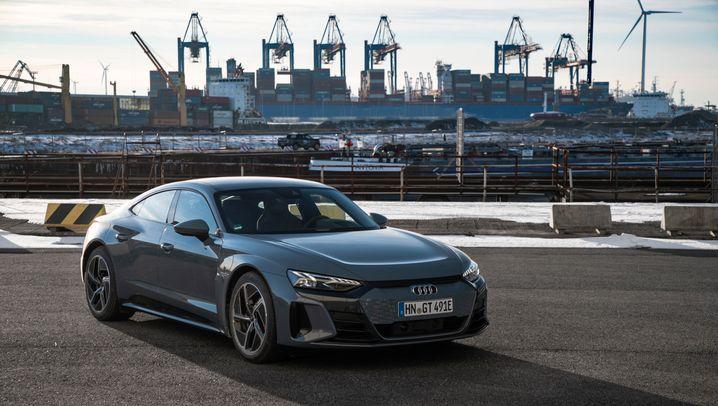Audi E-Tron GT – Taycans schwerer Bruder