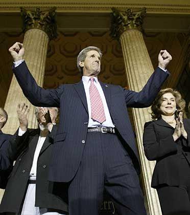 John Kerry: In Deutschland oder Großbritannien hätte er den Wahlsieg schon in der Tasche