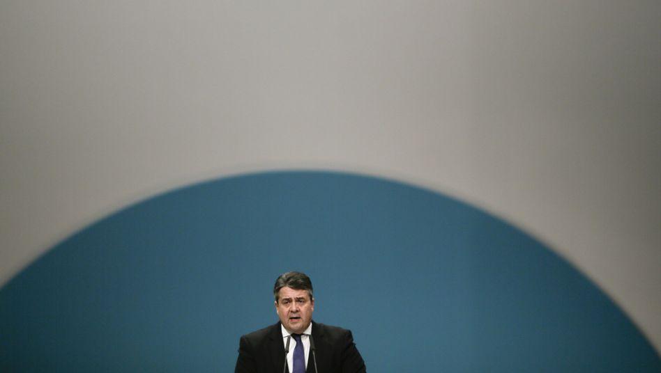 SPD-Chef Gabriel: Er will es