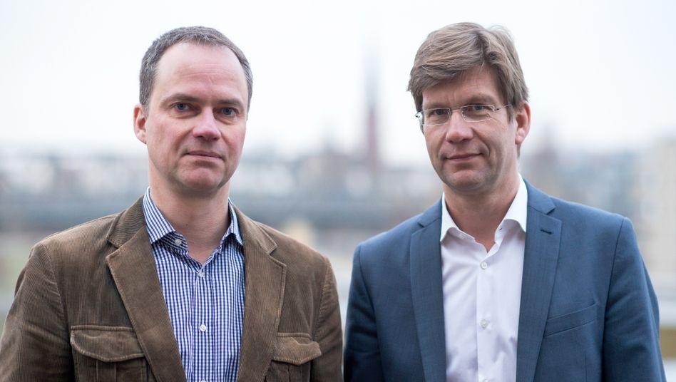 »Cicero«-Chefs Alexander Marguier, Christoph Schwennicke (2016)