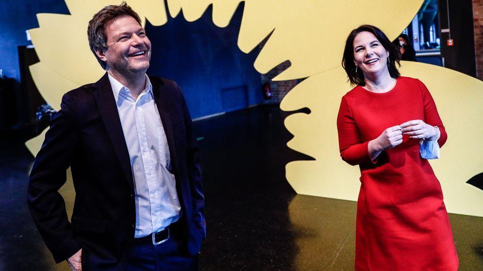 Grünenchefs Habeck, Baerbock: Die Erfolgsaussichten seriös ermitteln