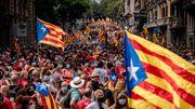 Katalanen demonstrieren für die Unabhängigkeit von Spanien