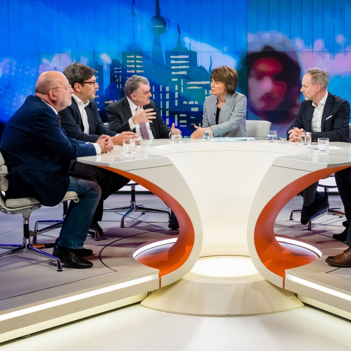 EINMALIGE VERWENDUNG TV/ Maybrit Illner