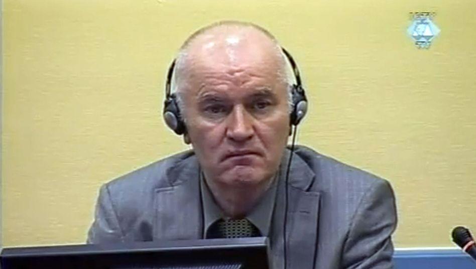 Ex-Serben-General vor Uno-Tribunal: Mladic verdammt seine Ankläger
