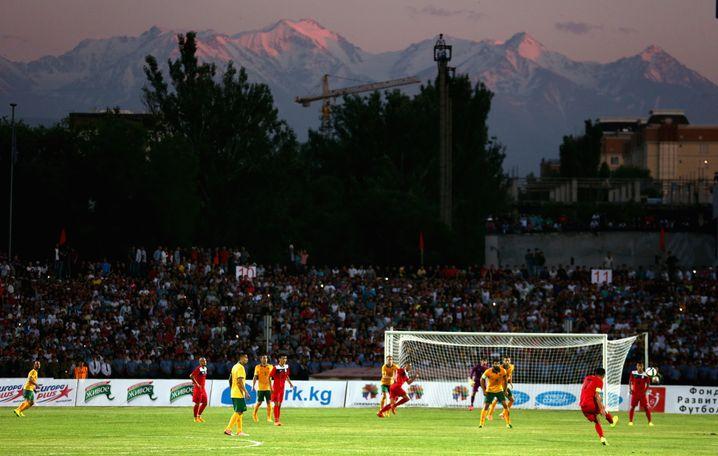 Es hat nicht viel gefehlt zum Punkt: Kirgisien verliert mit 1:2 gegen Australien