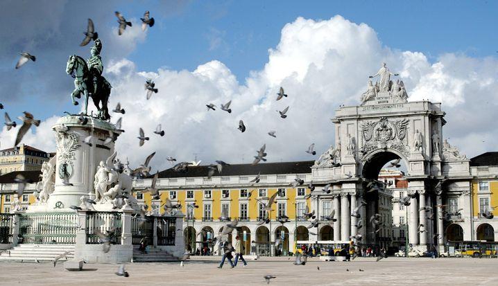 Terreiro do Paco in Lissabon (Archivbild)