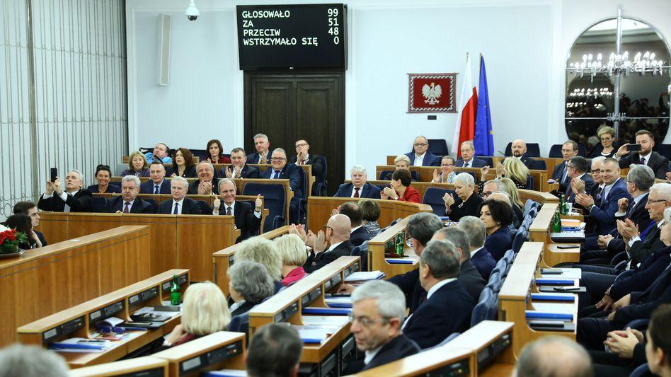 Polnischer Senat (Archivfoto)