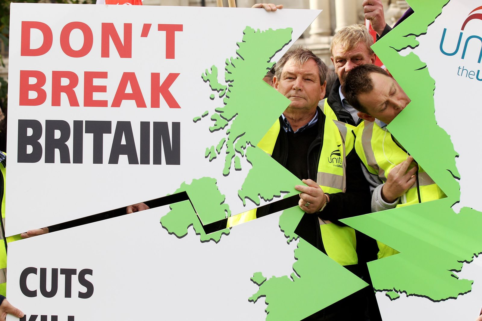 England / Protest / Wirtschaft