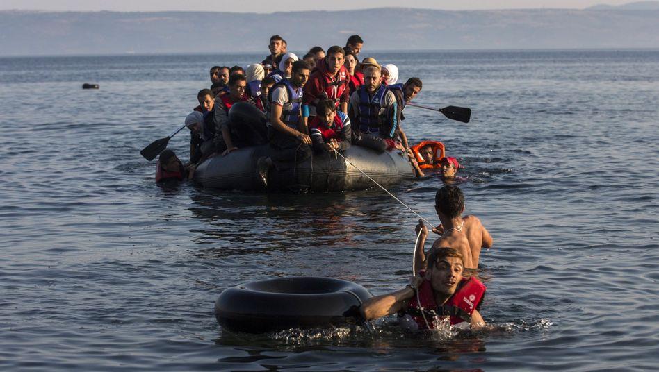 """Flüchtlinge in Griechenland: """"Migration muss für alle legal und sicher werden"""""""