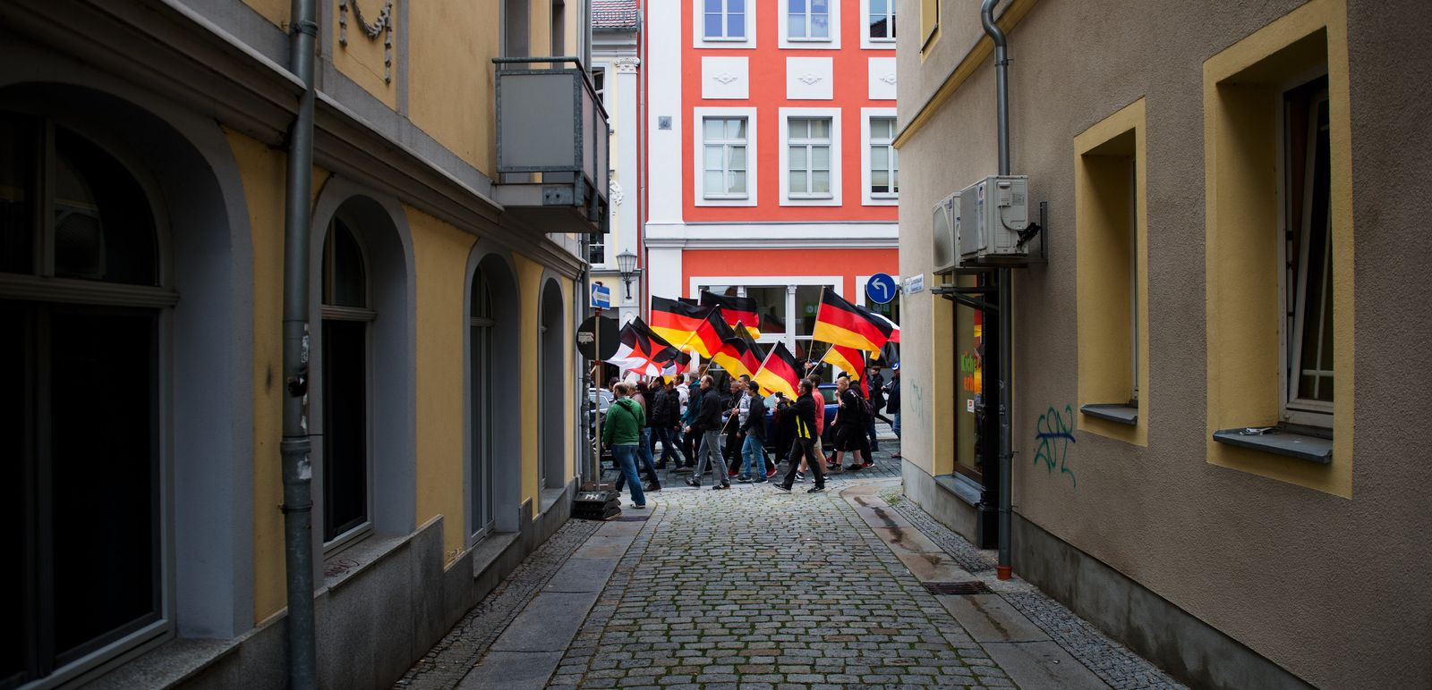 Bautzen / Demonstration / Rechte / Kundgebung