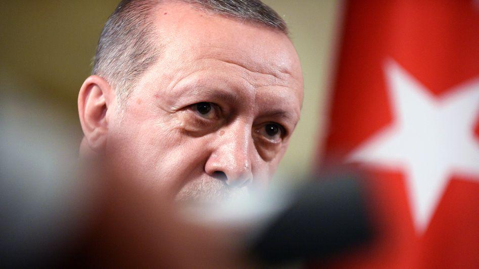 Türkischer Präsident Erdoğan: Kampf gegen angebliche Terroristen