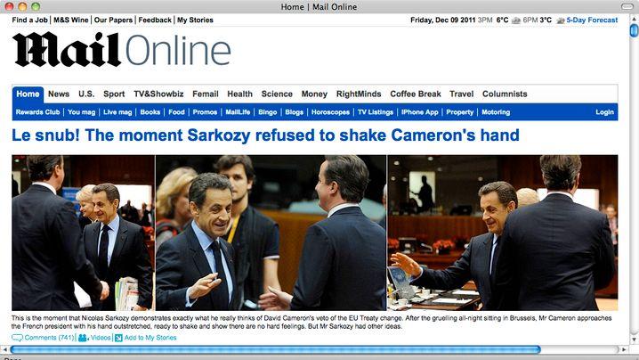 Sarkozy und Cameron: Die Hand drauf!