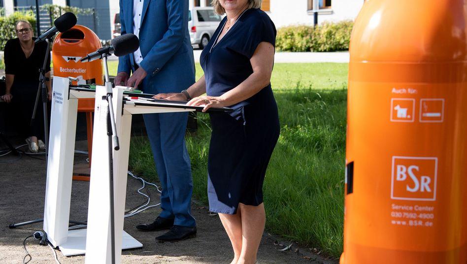 """Bundesumweltministerin Svenja Schulze: """"Wir wollen die Wegwerfmentalität verändern"""""""