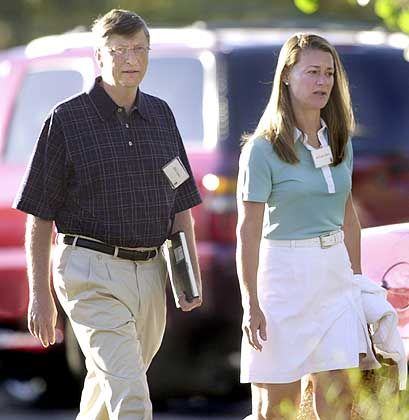 Bill und Melinda Gates: Innovative Software?