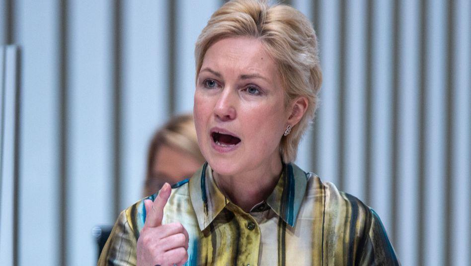 Mecklenburg-Vorpommerns Ministerpräsidentin ManuelaSchwesig