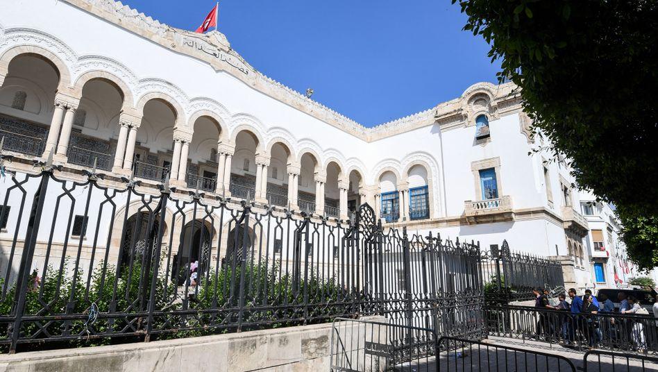 Gerichtsgebäude in Tunis