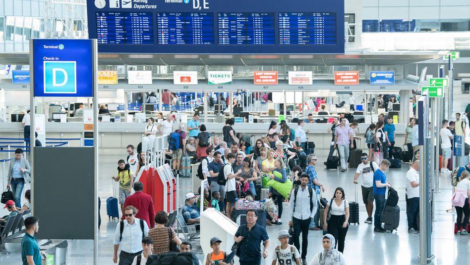 Flughafen Frankfurt Starts