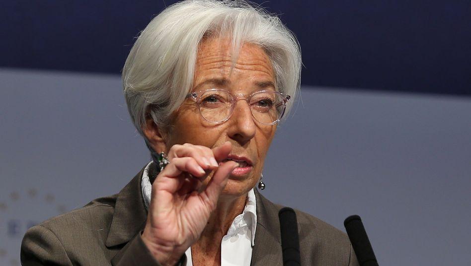 Christine Lagarde will die Binnennachfrage stärken