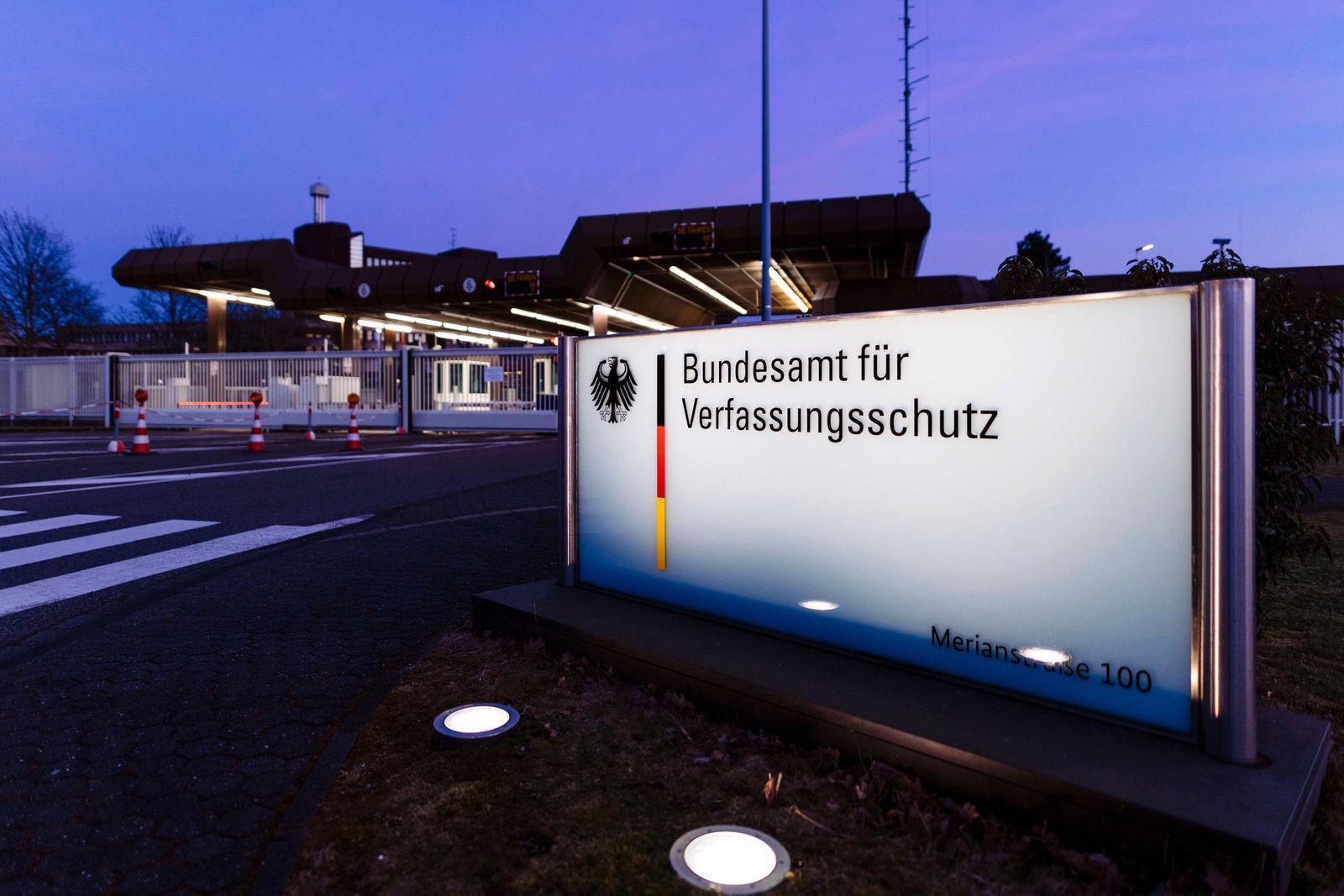Das Bundesamt für Verfassungsschutz (BfV) in Chorweiler. Das Verwaltungsgericht Köln hatte dem Bundesamt für Verfassung