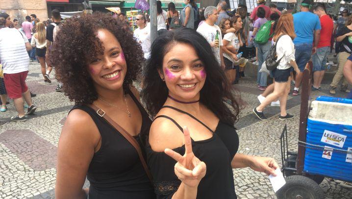 """Brasilien: """"Das Dingsda"""" treibt die Menschen auf die Straße"""