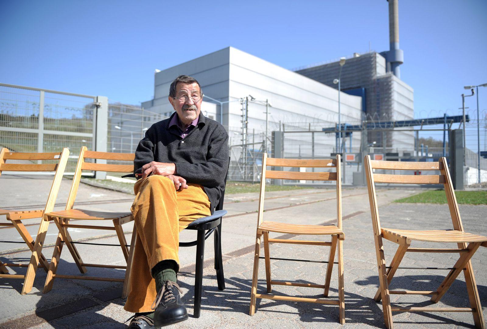 Grass / Lesung gegen Atomkraft