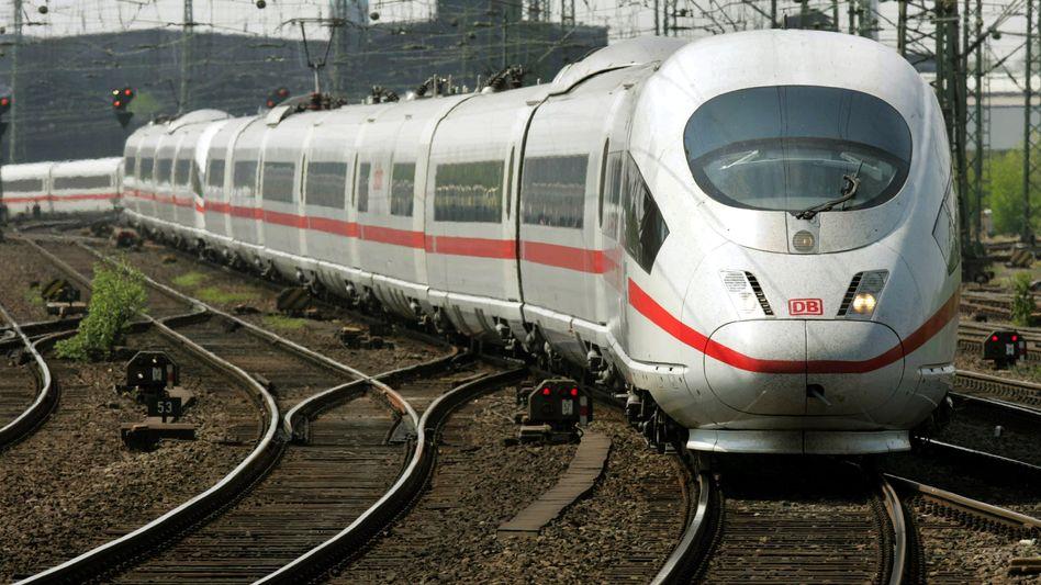 ICE der Deutschen Bahn: Erneut Probleme mit hohen Temperaturen