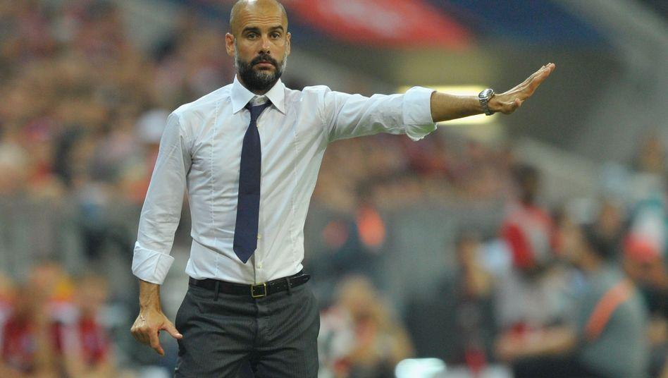 Bayern-Coach Guardiola: Plant derzeit nicht mit Gaudino, Green und Kurt