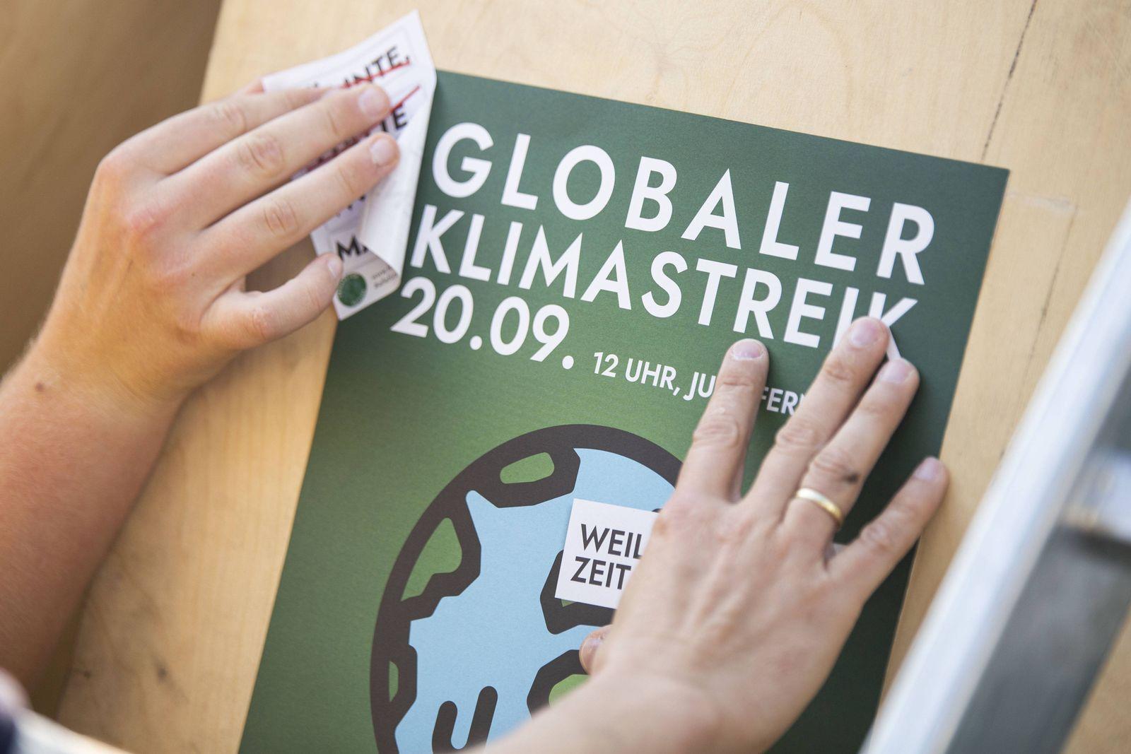EINMALIGE VERWENDUNG Globaler Klimastreik/ 20.09.