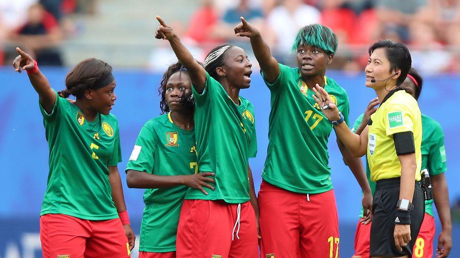 Kameruns Spielerinnen fühlten sich ungerecht behandelt