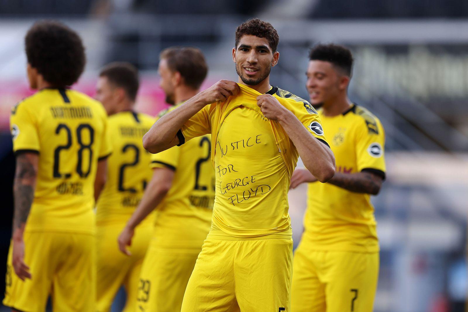 SC Paderborn 07 v Borussia Dortmund, Germany - 31 May 2020