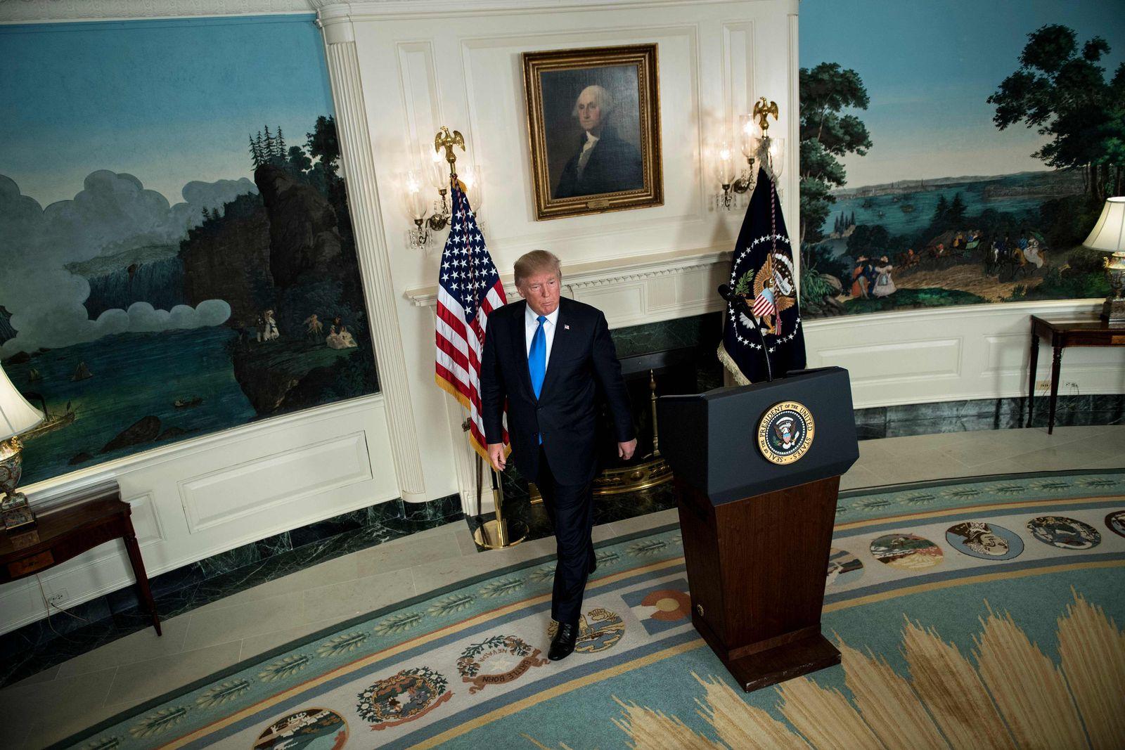Versprechen/ Trump Iran / US-POLITICS-TRUMP