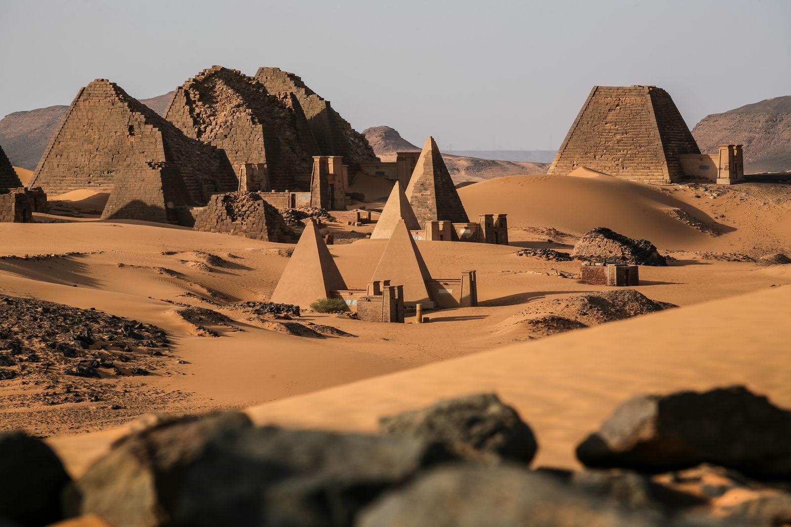 EINMALIGE VERWENDUNG Urlaubstipps/ 2019/ Wüste/ Sudan