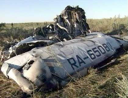 Absturzstelle der Tupolew-134: Es gibt keine Überlebenden