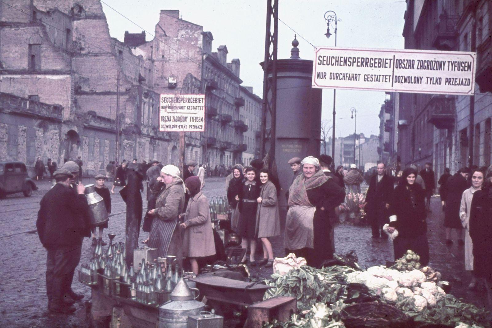 Warsaw , During German Occupation