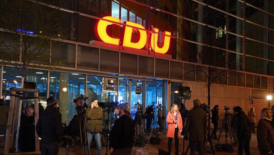 Die CDU-Zentrale in Berlin
